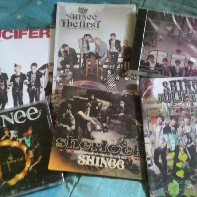 SHINee Albums (Selling/Trade)