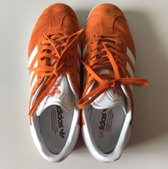 Size US 9 Adidas Gazelle Orange (authentic)
