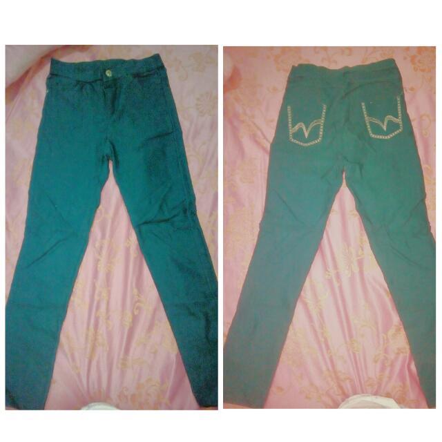 stretchable pants P100