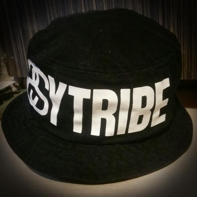▪Stussy Tribe Bucket Hat 漁夫帽 黑 ▪