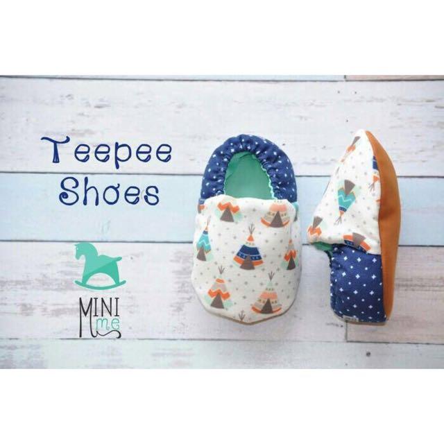Teepee Baby Shoes (Prewalker)