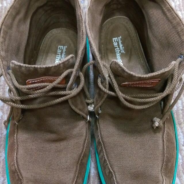 Timberland 帆布鞋