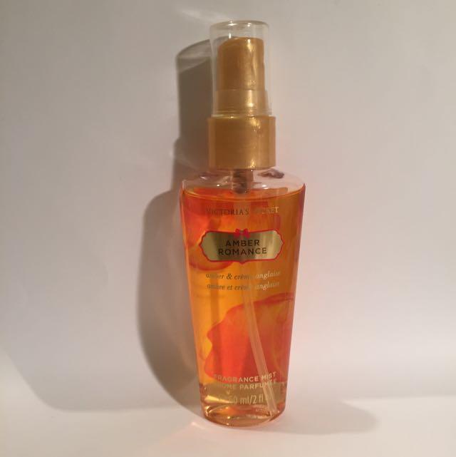 Victoria Secrets Amber Romance Fragrance Mist