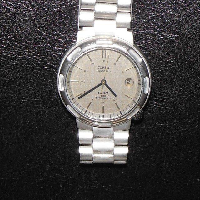 Vintage Timex ICOM Titanium Watch