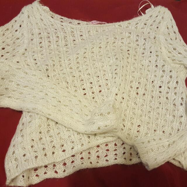 White cardigan from supre