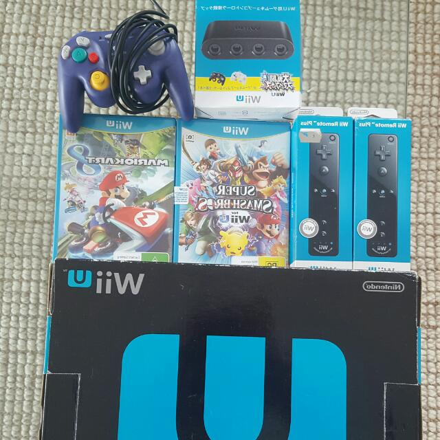 Wii U Premium Pack With Extras