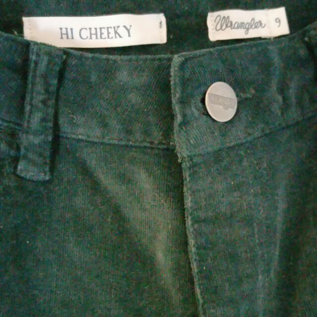 Wrangler Size 6 High Waisted Shorts