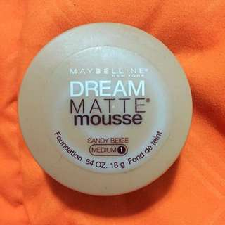 Maybelline Dream Matte Mouses