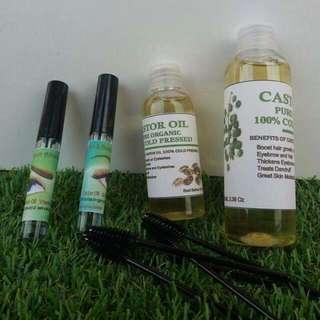 Castor Oil Pure Organic Cold Pressed