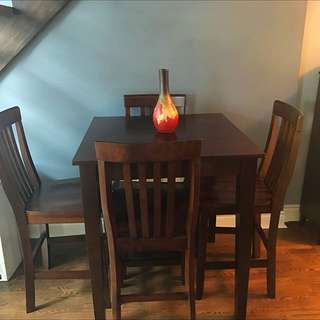 Brand New Table With Chairs