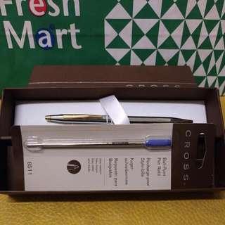 全新CROSS名筆,加筆芯一支