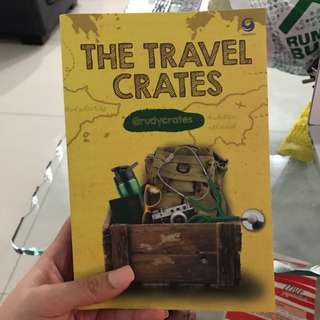 The Travel Crates Buku By Rudy Crates