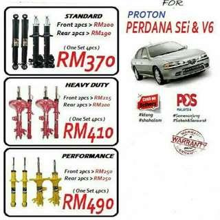 CAR ABSORBER FOR PROTON PERDANA