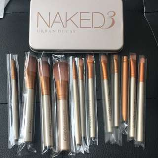 Naked 3 Makeup Brushes