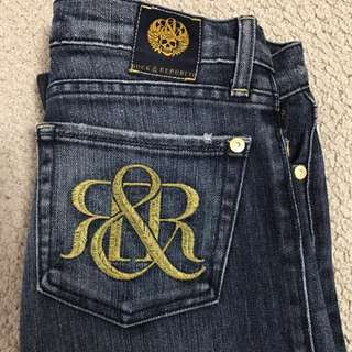 Rock & Republic Skinny Jeans Sz 26