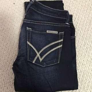 William Rast Jerri Skinny Jeans Sz 25