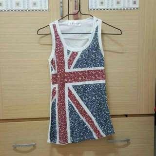 英國國旗背心