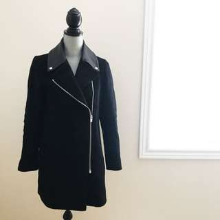 CLUB MONACO - Lamb leather Coat -- SMALL