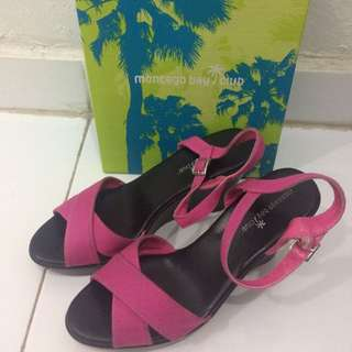 Wedges Pink 40,5 Montego Bay Club Payless