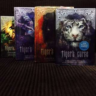 Tiger's Curse Series By Colleen Houck