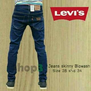 Celana Jeans Pria Levi's Skinny / Slimfit