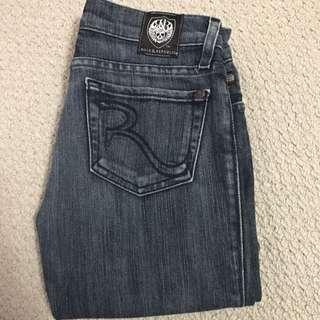Rock & Republic Flared Jeans Sz 25 *hemmed*