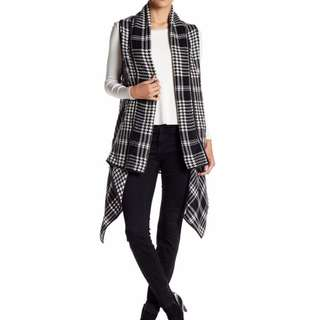 Nordstrom Rack Houndstooth Fly Away Vest