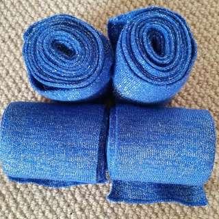 Blue Sparkly Bandages