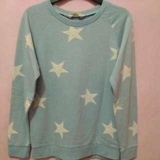 H&M Blue Sweatshirt