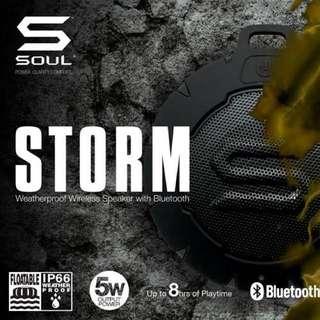 Soul Storm Bluetooth Speaker.