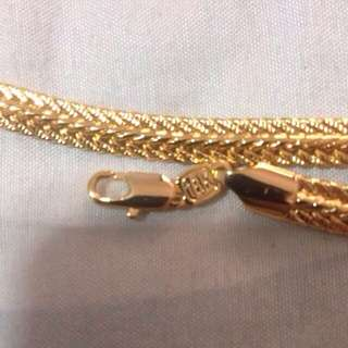 Take Me!!! 18k Gold Plated Necklace