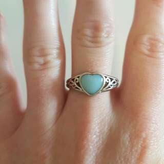 Tree Of Life Sterling Silver Heart Ring