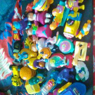Priceless Classic McDonald Toys Some 30 Years Old!!!