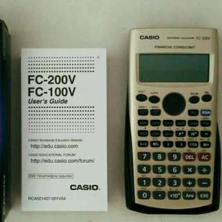 Casio Financial Calculator FC100V
