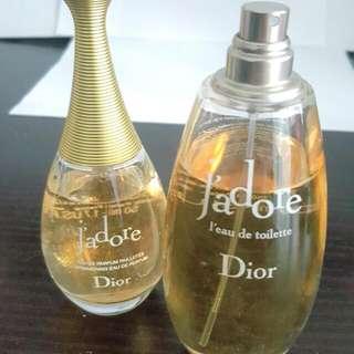 DIOR J'adore Perfume 75ml & 50ml