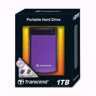 Harddisk Eksternal Transcend 1 TB - 25H3