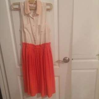 Anthropologie Mid Length Summer Dress