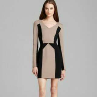 Rebecca Minkoff Harriet Dress in Neutral XS/S