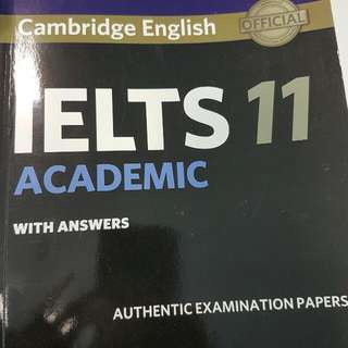 IELTS 11 ACADEMIC WITH AUDIO FILE