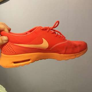 Orange On Orange Nike Air Max Thea