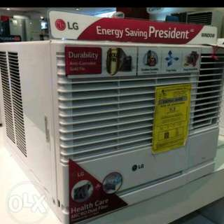 Lg Window Type Aircon Ang Brand Available