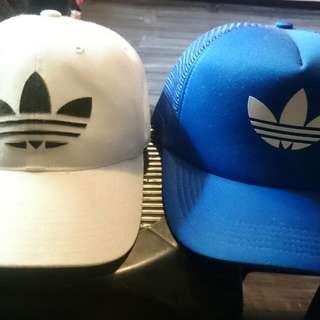 2pcs Adidas Trefoil Cap