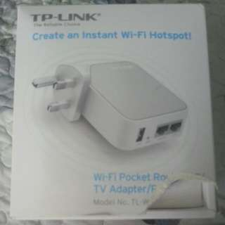 Tp- link Wifi Pocket Router