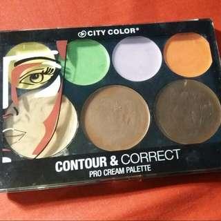 City Color Contour&correct Cream Pallete
