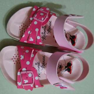 Pre-loved Girl Minnie Mouse Shoes (Pink Colour)