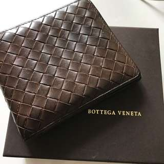 Bottega Veneta Men Bifold Wallet Used