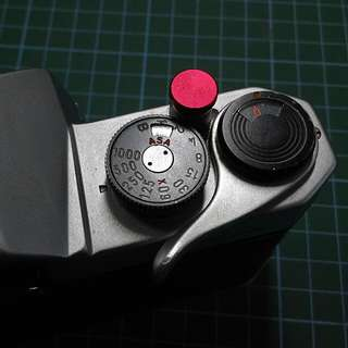 Soft Shutter Release Button Red Flat