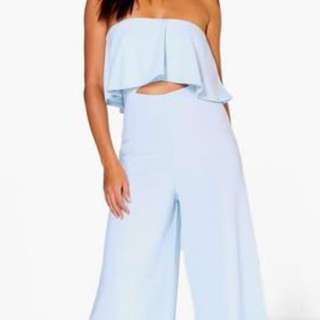 New Strapless Cut Out Jumpsuit