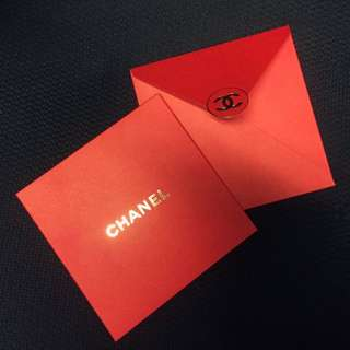 Authentic Chanel Red Packets