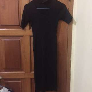 Dress Choker Hitam